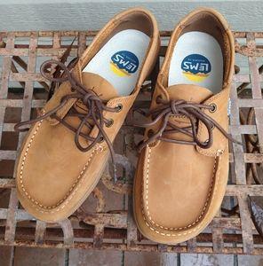 Lems unisex boat shoe.
